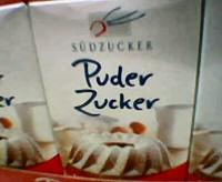 Zucker einpudern
