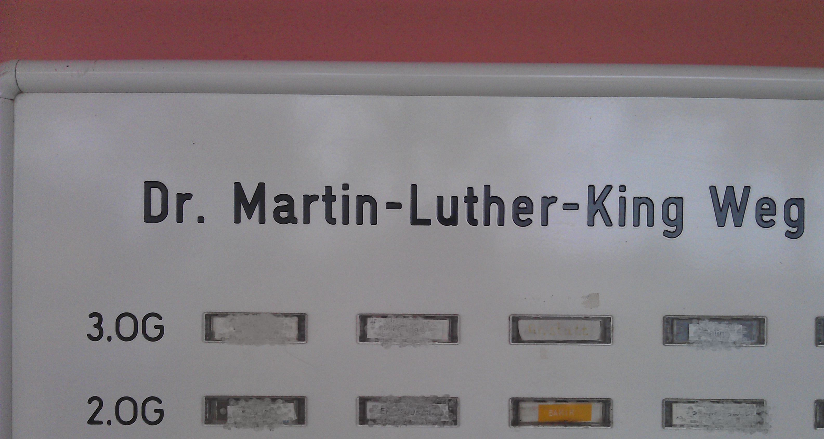 Dr. Martin-Luther-King Weg