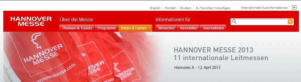 Hannover Messe 2013