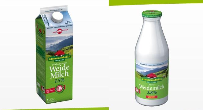 Weide Milch