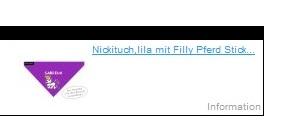 Filly Pferd Sticker bei Deppenleerzeichen.de