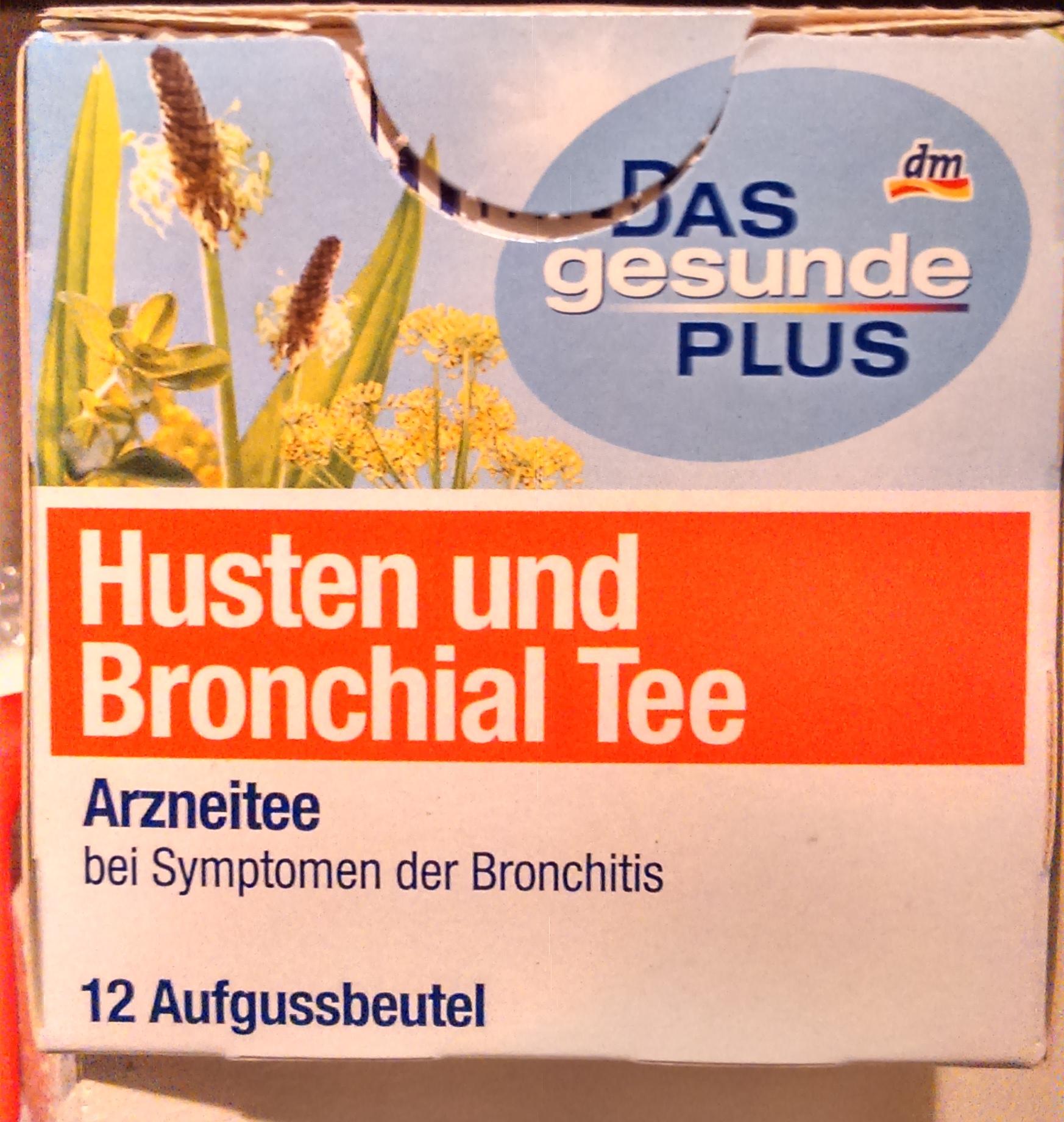 Husten und Bronchial Tee - oder vielleicht doch Husten- und Bronchial-Tee?