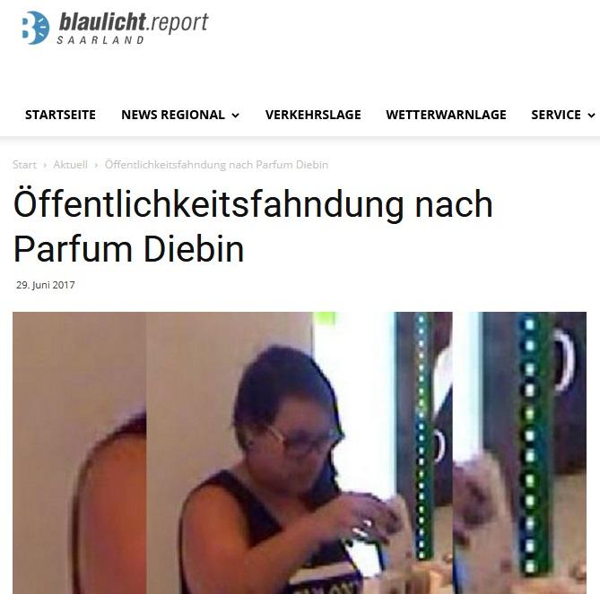 """Ein Parfum namens """"Diebin"""""""